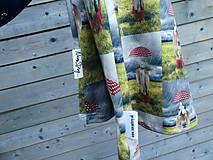 Detské oblečenie - Tričko - koník v daždi - 9609514_