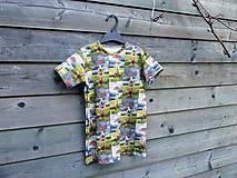 Detské oblečenie - Tričko - koník v daždi - 9609516_