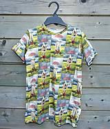 Detské oblečenie - Tričko - koník v daždi - 9609588_