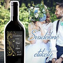 Darčeky pre svadobčanov - Svadobné etikety 25 - 9609177_