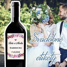 Darčeky pre svadobčanov - Svadobné etikety 26 - 9609187_