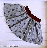 Detské oblečenie - Mačičková sukienka - 9610270_