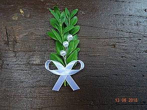 Pierka - Krušpánové svadobné pierko č.4 - 9611548_