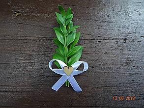 Pierka - Krušpánové svadobné pierko č.5 - 9611580_