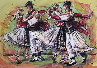 Obrazy - Tancuje sa! - 9611215_