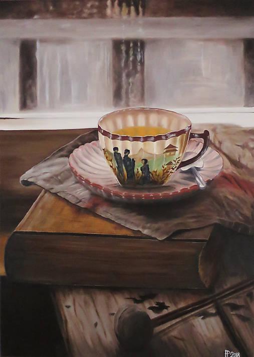 Obrazy - Čas na čaj