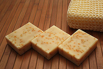 Drogéria - Prírodné bylinkové mydlo Nechtík - 9612032_