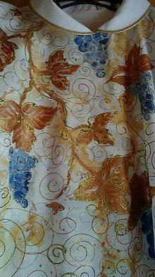 Oblečenie - Ornát s hroznom - 9613577_