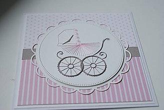 Papiernictvo - Baby dievčatko - 9613323_