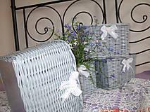 Košíky - Košíky - Šedé čipkované - 9614268_