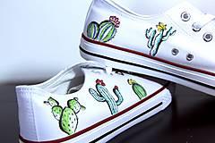 Obuv - tenisky - kaktus - 9614960_