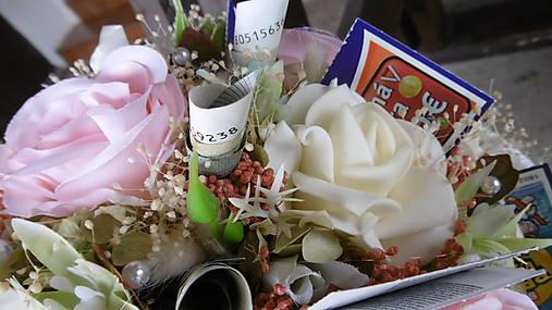 2f92f50d2 Smotanovo-ružová gratulačná kytica / KWEY - SAShE.sk - Handmade ...