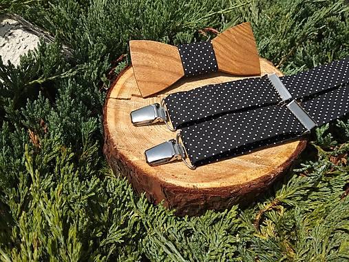 26c593699 Pánsky set - drevený motýlik a traky / Marseen-Handmade - SAShE.sk ...