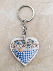 Kľúčenky - Prívesok na kľúče Srdiečko - 9615504_