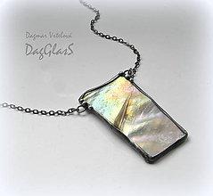 Náhrdelníky - Cínový šperk