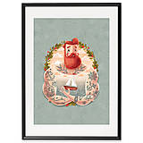 Grafika - Art-Print Sailor A4 - 9612867_