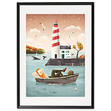 Grafika - Art-Print Lighthouse A4 - 9612883_