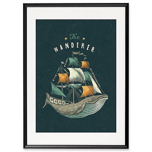 Art-Print The Wanderer A3