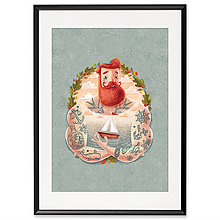 Grafika - Art-Print Sailor A3 - 9612870_