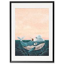Grafika - Art-Print Gronland A4 - 9612876_