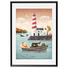 Grafika - Art-Print Lighthouse A4 - 9612883_