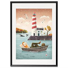 Grafika - Art-Print Lighthouse A3 - 9612892_