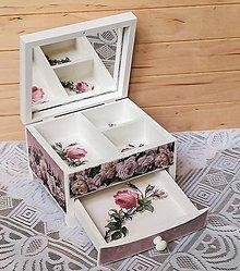 Krabičky - Šperkovnica na želanie - 9613817_