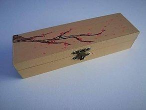 Krabičky - Šperkovnica Sakura - 9614447_