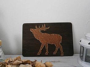 Obrázky - Jeleň obraz pre poľovníka... - 9614307_