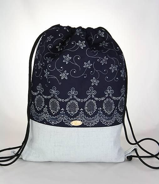 Modrotlačový batoh Lesana 3