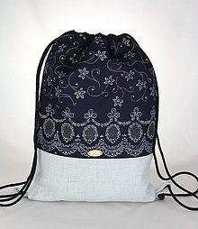 Batohy - Modrotlačový batoh Lesana 3 - 9612924_