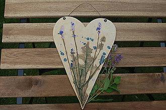 Dekorácie - Voňavé srdce 1 - 9612404_