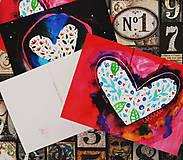 Papiernictvo - Srdečné pohľadnice - 9617520_