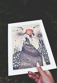 Kresby - Print - Zajtrajšok - 9617077_