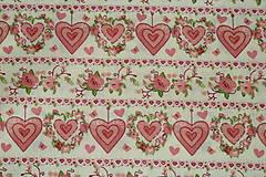 Textil - Látka Zaľúbená Ruženka - 9616264_