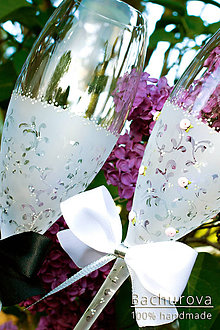 Nádoby - Svadobné poháre - 9616321_