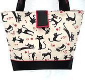 Veľké tašky - Mačičková taška - Miška - 9615972_