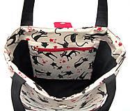 Veľké tašky - Mačičková taška - Miška - 9615977_