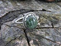 - Strieborny prsteň Ag 925 Serafinit - 9616148_