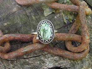 Prstene - Strieborny prsteň Ag 925 Serafinit - 9616163_