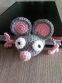 Knihy - Myšiak - záložka do knihy - 9616100_