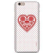Na mobil - iphone 6S SLIM Májofka Red - 9615689_