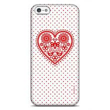 Na mobil - iPhone 5, 5S, SE - SLIM Májofka Red - 9615715_