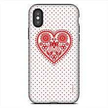 Na mobil - iphone X TOUGH Májofka Red - 9615744_