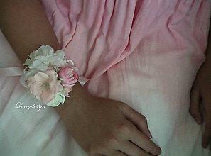 Náramky - svadobný náramok..pre družičku - 9617420_