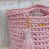 Veľké tašky - SUMMER bag - pink - 9618468_