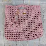 Veľké tašky - SUMMER bag - pink - 9618469_