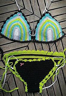 Bielizeň/Plavky - Háčkované plavky - summer ;) - 9618786_