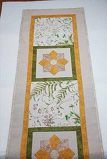 Úžitkový textil - Obrus lúčne kvety - 9618788_