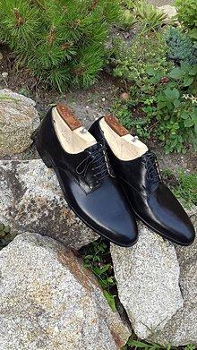Obuv - Hand made pánské topánky kože velkosť do 46 - 9620118_